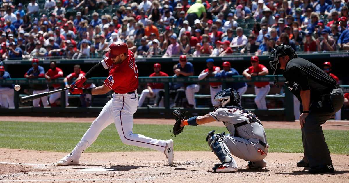 Slugger Gallo relaxes, helps Rangers win without long ball