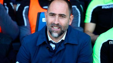 <p>               Udinese head coach Igor Tudor attends a Serie A soccer match between Atalanta and Udinese at the Atleti Azzurri d'Italia stadium in Bergamo, Italy, Monday, April 29, 2019. (Paolo Magni/ANSA via AP)             </p>