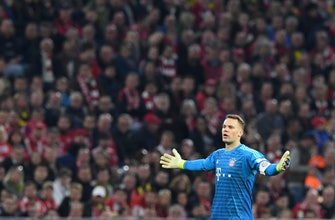 Bayern goalkeeper Manuel Neuer out 2 weeks with calf injury