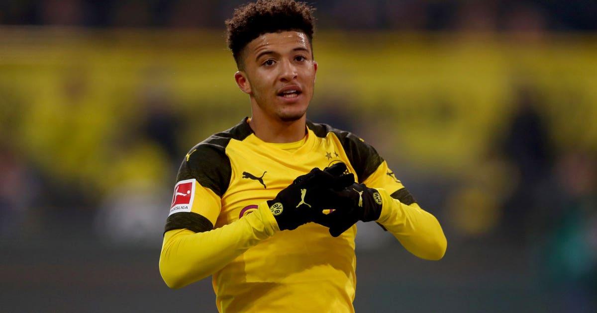 Jadon Sancho – All 2018/19 Goals and Assists so far   Bundesliga highlights