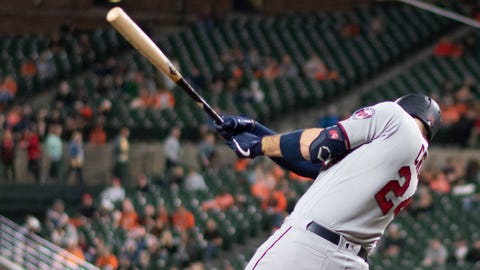 C.J. Cron, Twins first baseman (↑ UP)