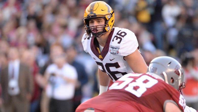 Former Gophers LB Cashman selected by Jets in fifth round