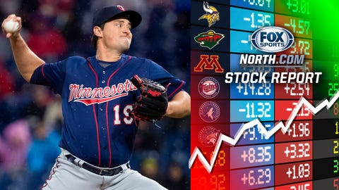 Ryne Harper, Twins reliever (⬆ UP)