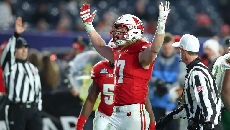 Former Badgers LB Van Ginkel drafted by Dolphins in fifth round