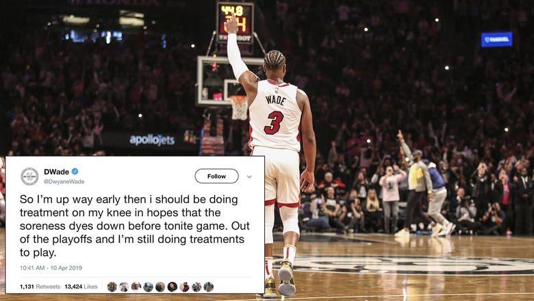 Top Tweets: Former Marquette star Wade has last dance in NBA