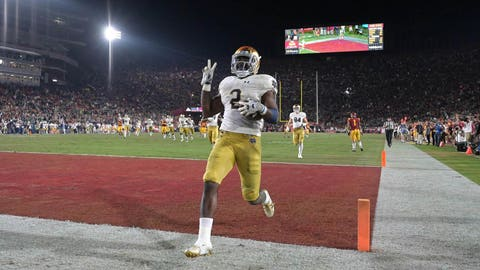 6th round: Dexter Williams, RB, Notre Dame