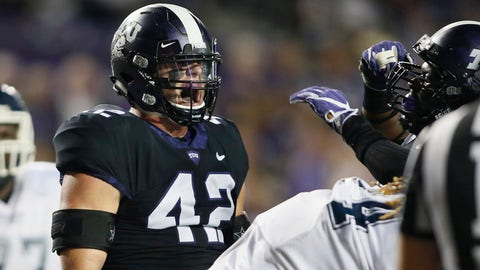 7th round: Ty Summers, LB, Texas Christian