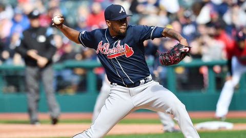 1. Could Julio Teheran benefit from change in strategy?
