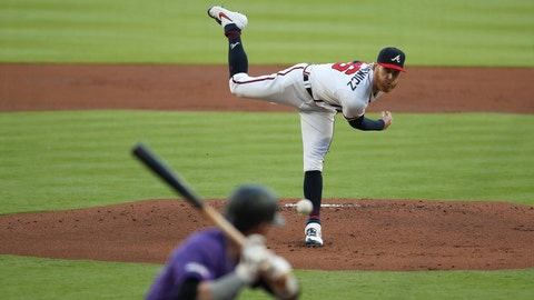Foltynewicz's return solidifies promising Braves rotation