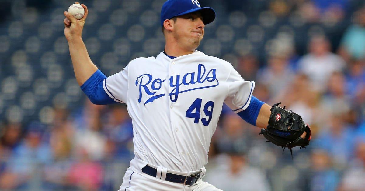 Royals recall Fillmyer, send Gutierrez back to Omaha