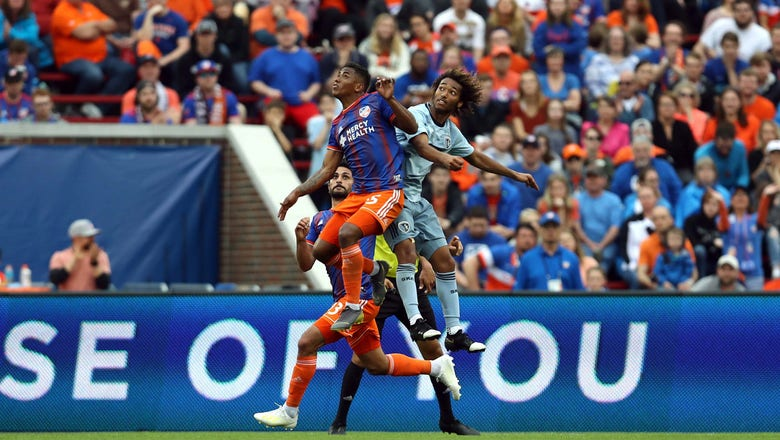Busio scores in second straight match as Sporting KC ties FC Cincinnati 1-1