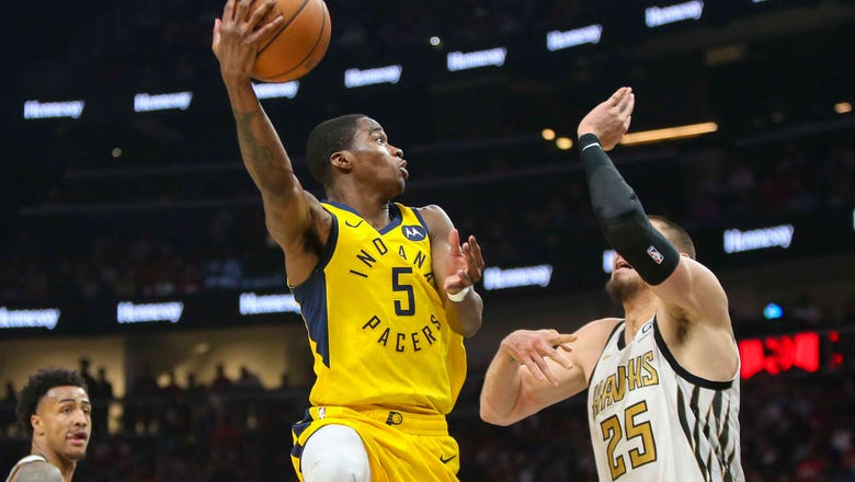 Sumner's 3 last-second free throws lift Pacers past Hawks 135-134
