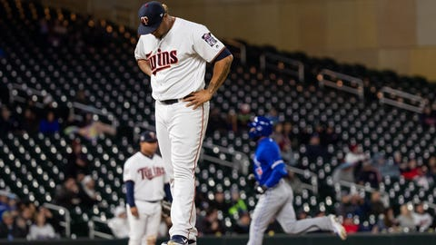 Adalberto Mejia, Twins reliever (⬇ DOWN)