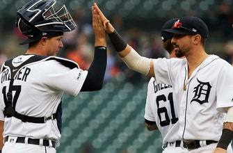 Bats come alive as Tigers end five-game skid