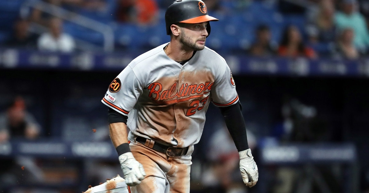 Joey Rickard hits game-winning single for the Orioles to avoid sweep