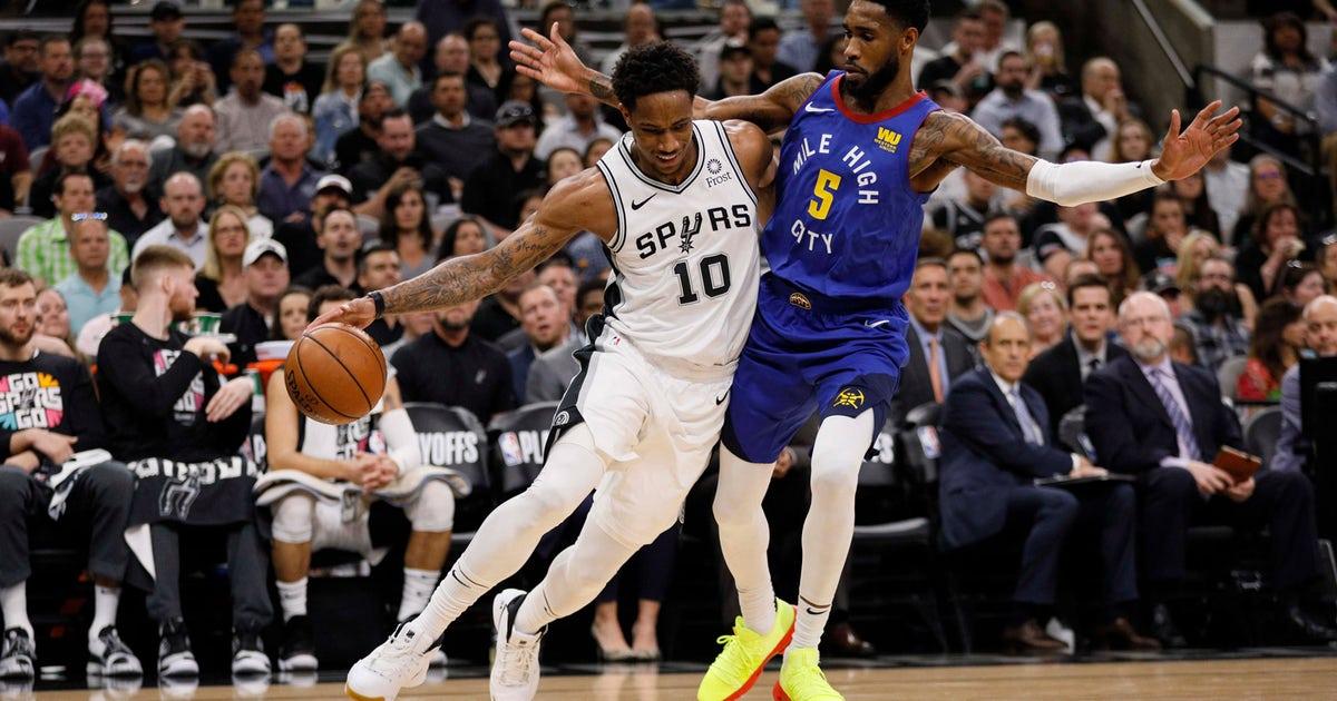 d2509e766cb Spurs vs. Nuggets  Watch Game 7 on FOX Sports Southwest · San Antonio Spurs