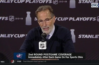 Tortorella: Blue Jackets 'had a tremendous amount of will' and played as a unit.