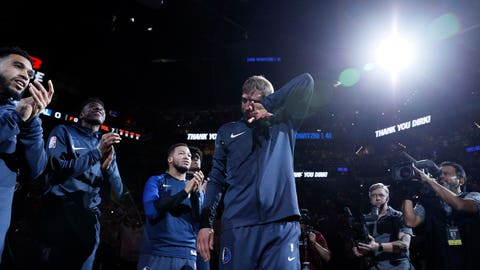 PHOTOS: Dirk Nowitzki Plays Final Game of Hall of Fame Career