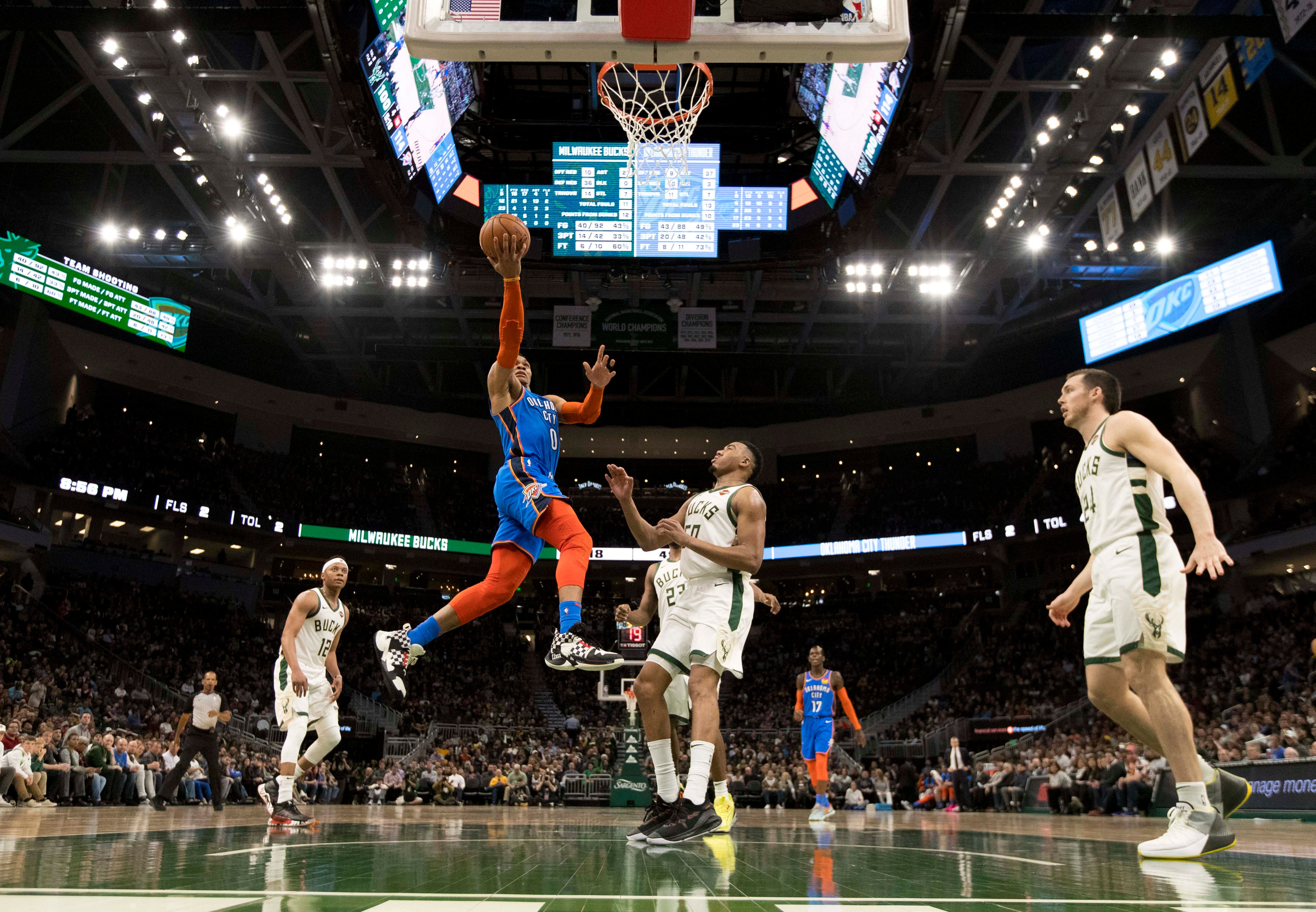 Thunder get 6th spot in West with win over Bucks | FOX Sports