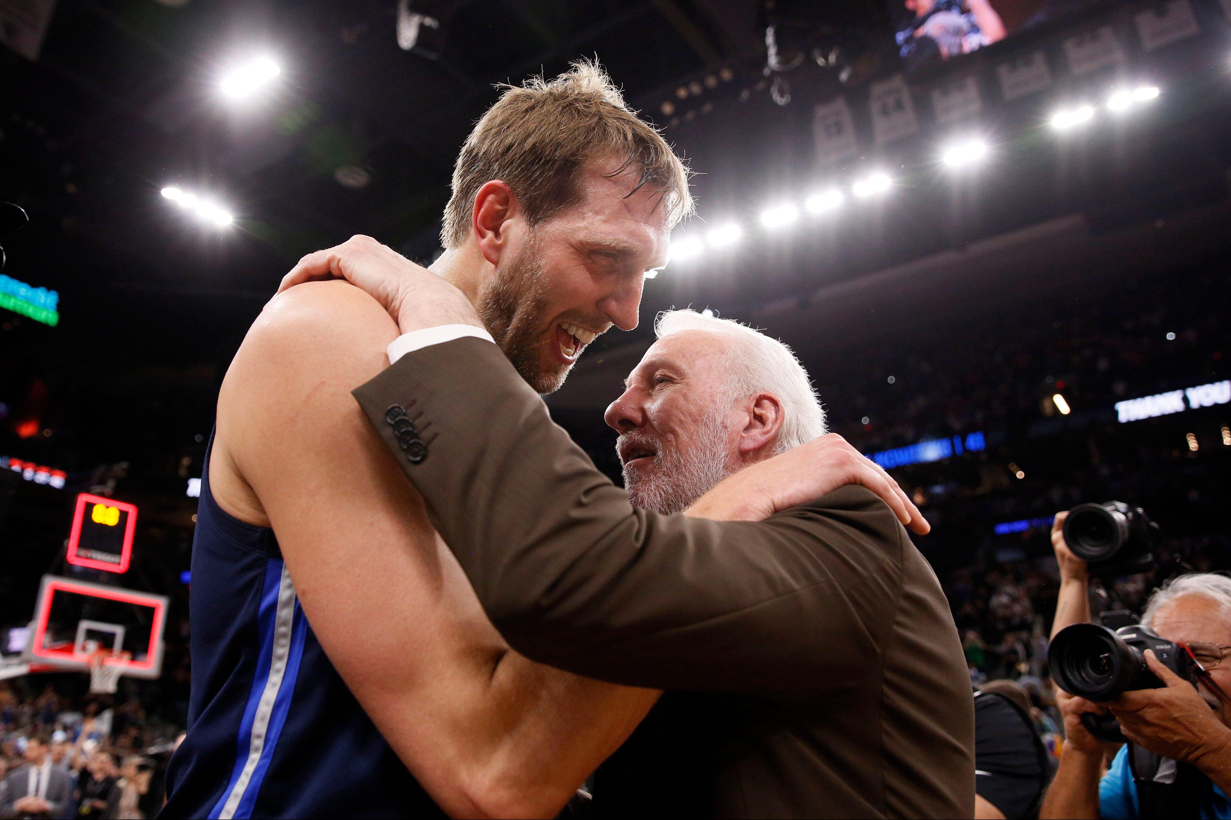 Spurs beat Mavs 105-94 in Nowitzki's final game | FOX Sports