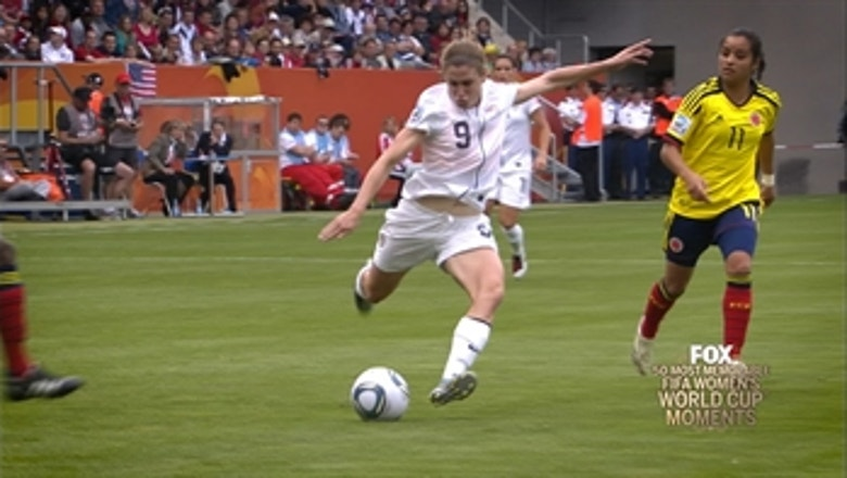 38th Most Memorable Women's World Cup Moment: Heather O'Reilly's Humdinger
