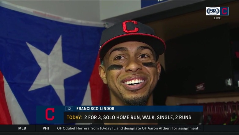 Francisco Lindor breaks down the Tribe's performance since his return