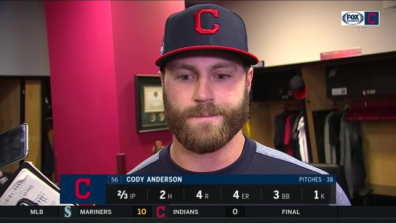 Cody Anderson breaks down his rough start
