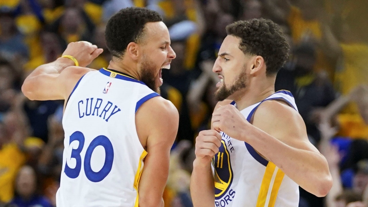 sale retailer c6c64 d122c Nick Wright evaluates the Warriors  Game 5 win over the Rockets despite  losing Kevin Durant   FOX Sports