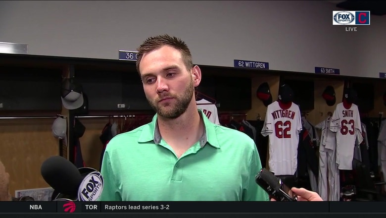 Josh Smith talks about his major league debut