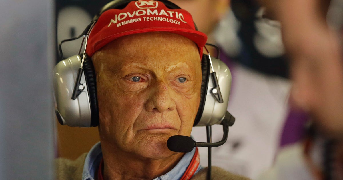The Latest: Mercedes pays tribute to F1 great Niki Lauda