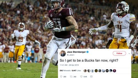 Jace Sternberger, Packers tight end