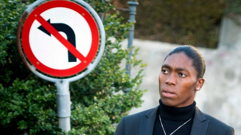<p>               FILE - In this Monday, Feb. 18,2019 file photo, South Africa's runner Caster Semenya, current 800-meter Olympic gold medalist and world champion, arrives for the first day of her hearing at the international Court of Arbitration for Sport, CAS, in Lausanne, Switzerland. Caster Semenya will find out Wednesday, May 1, 2019 if she has won her appeal against IAAF rules to curb female runners' high natural levels of testosterone. (Laurent Gillieron/Keystone via AP, File)             </p>