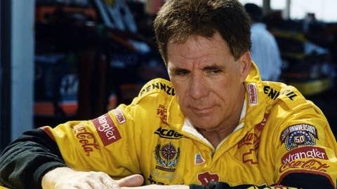 1998:  Darrell Waltrip took over Dale Earnhart IncorporatedÕs (DEI) Pennzoil-sponsored Chevrolet for an injured Steve Park for 13 races during the middle of the 1998 NASCAR Cup season. (Photo by ISC Images & Archives via Getty Images)