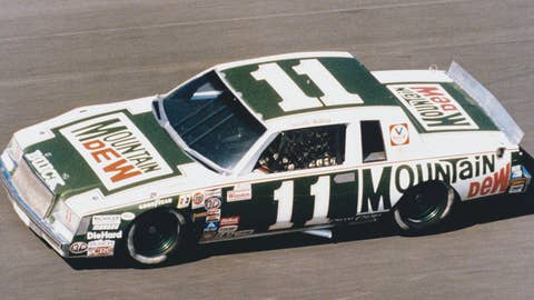 "1981:  Darrell Waltrip drove for Junior Johnson and the ""Dew Crew"" in 1981, finishing in the top five 21 times, and the top ten 25 times.  (Photo by ISC Archives via Getty Images)"