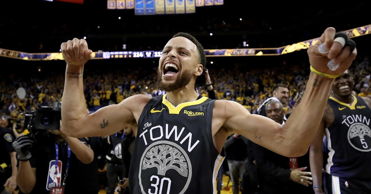 Shannon Sharpe makes the case for Steph Curry being a Top 10 player ever — if he wins the Finals MVP