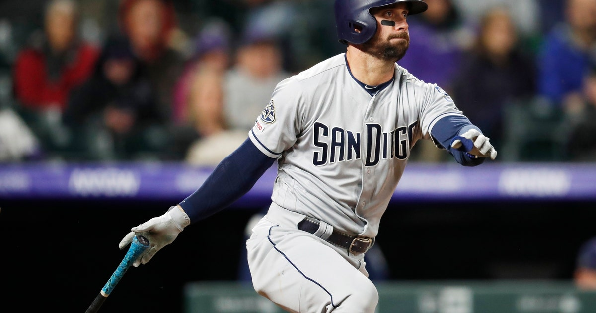 Garcia drives in tiebreaking run as Padres beat Rockies 4-3