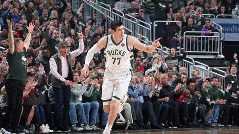 Ersan Ilyasova deserved to have a game like this