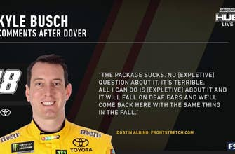 Austin Dillon and Cole Pearn react to Kyle Busch's criticism of the aero package after Dover