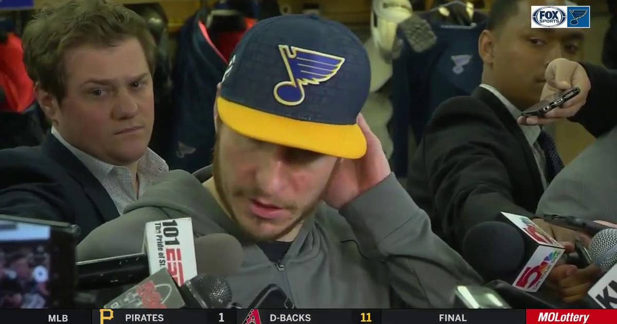 Steen: 'I'm not going to comment on that … We're going to get ready for Game 4'