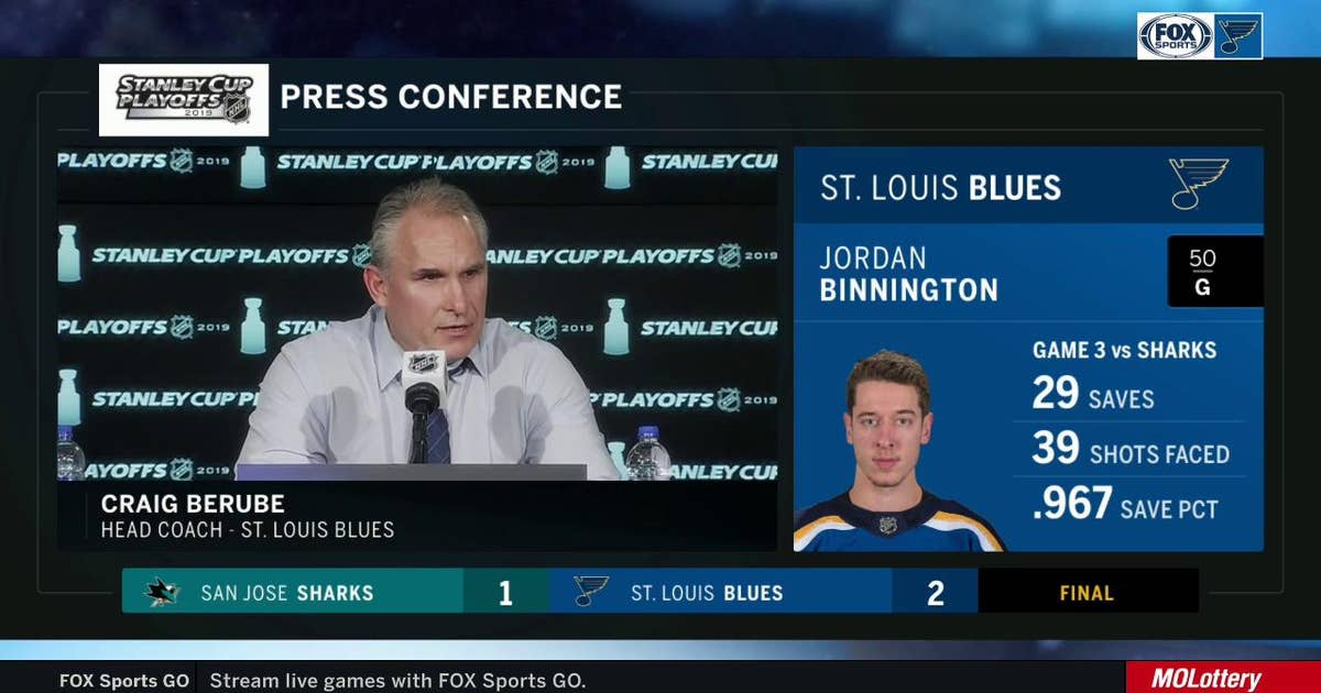 Berube: Blues' fourth line has 'been really good in all facets of the game'