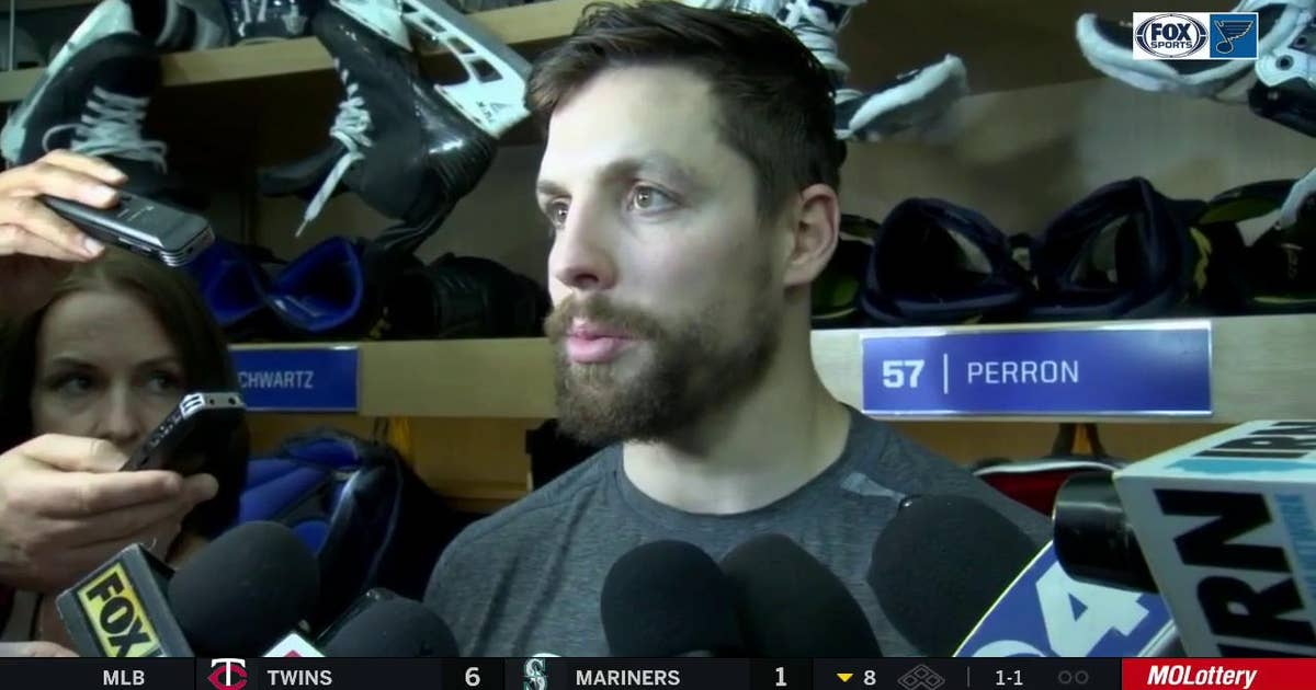 Perron: 'We had a really, really strong start' in win over Sharks