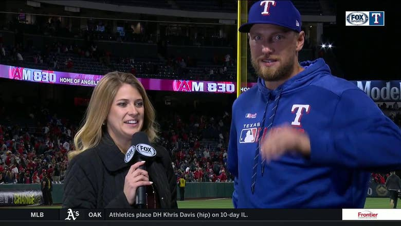 Hunter Pence: 'That was a good ball game right there'