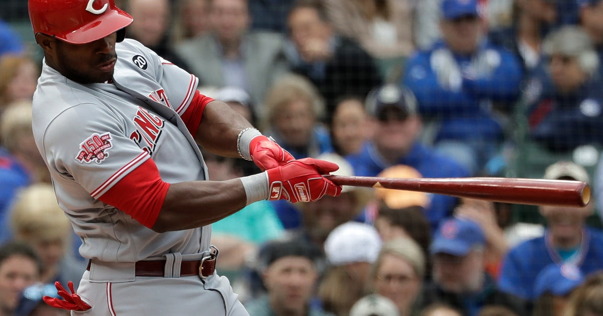 Suárez hits 2-run homer in 9th, Reds rally past Cubs 6-5