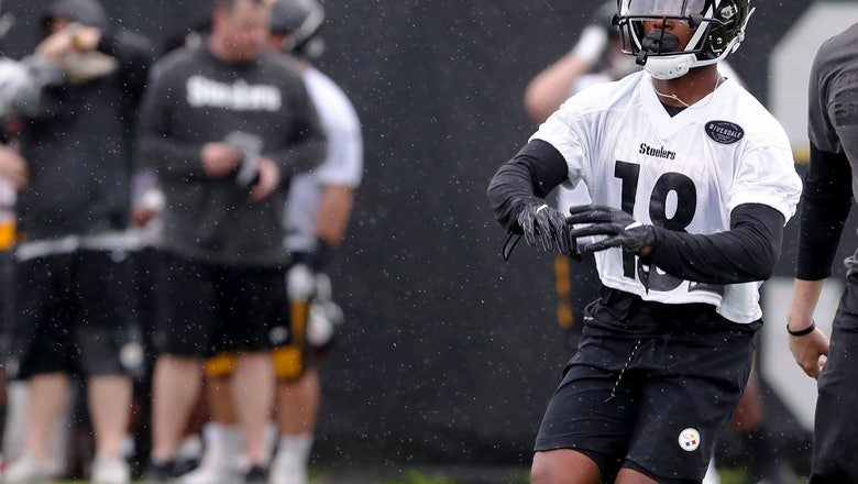 Rookie WR Johnson paying no heed to Antonio Brown mentions