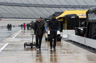NASCAR Cup Series race at Dover in rain delay