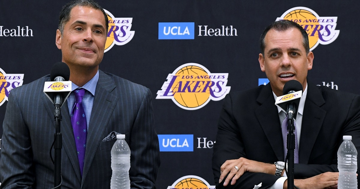 Skip Bayless: LeBron showing up to Frank Vogel's press conference was 'a positive sign' for Lakers