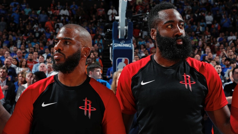 Nick Wright: The Rockets' only hope to get rid of Chris Paul would be trading him to the Lakers