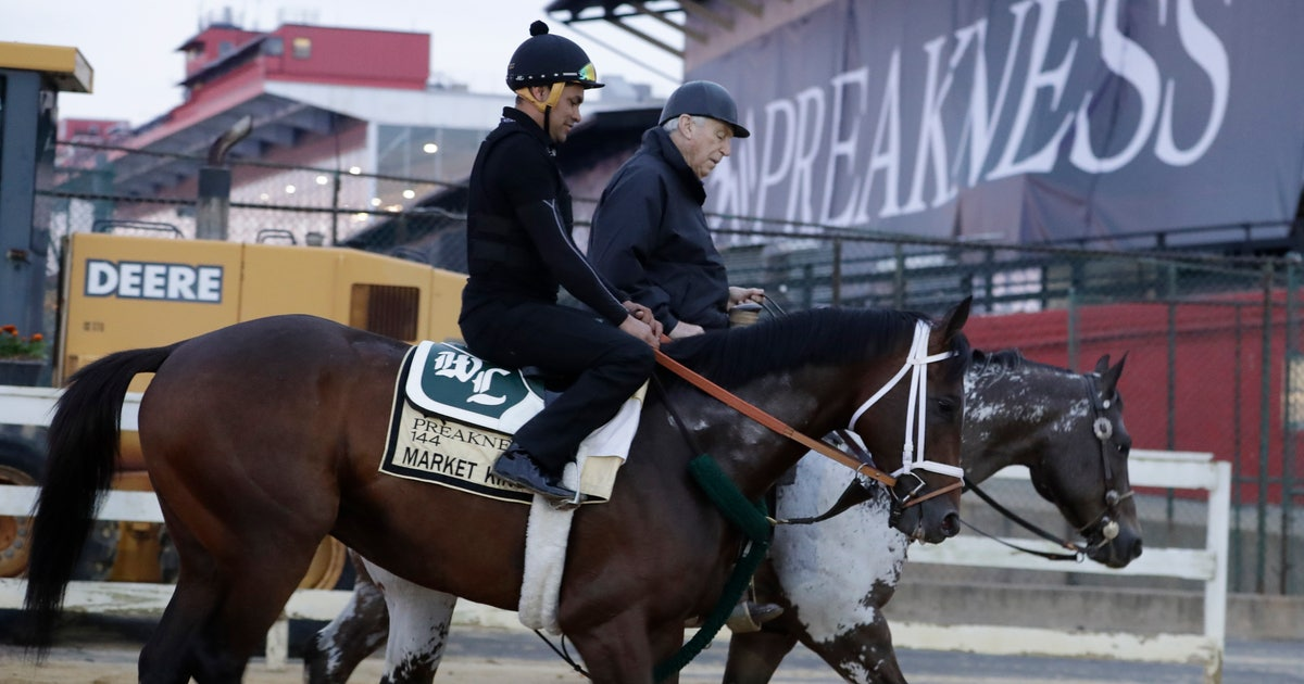 The Latest: Infield crowd sparse hours before the Preakness