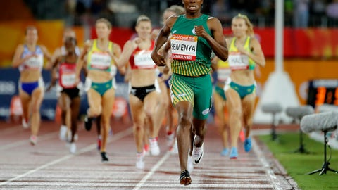 <p>               FILE - In this Tuesday, April 10, 2018 file photo South Africa's Caster Semenya runs to the finish line to win the women's 1500m final at Carrara Stadium during the 2018 Commonwealth Games on the Gold Coast, Australia. Caster Semenya lost her appeal Wednesday May 1, 2019 against rules designed to decrease naturally high testosterone levels in some female runners. (AP Photo/Mark Schiefelbein, File)             </p>