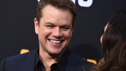 "<p>               Matt Damon arrives at the Los Angeles premiere of ""Catch-22"" at TCL Chinese Theatre on Tuesday, May 7, 2019. (Photo by Jordan Strauss/Invision/AP)             </p>"